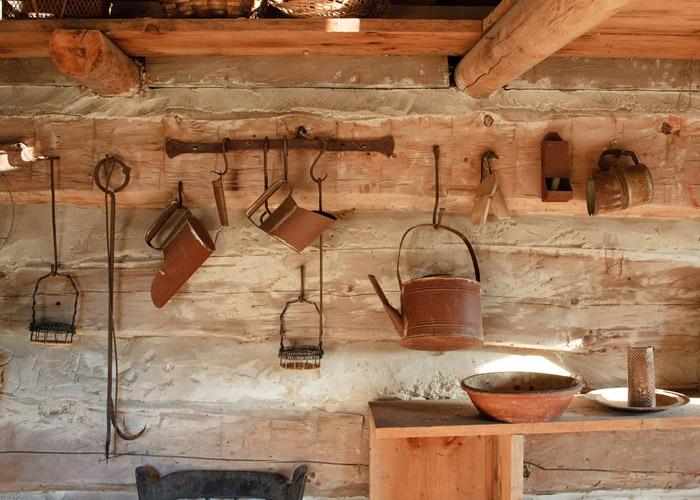 אווירה כפרית במטבח